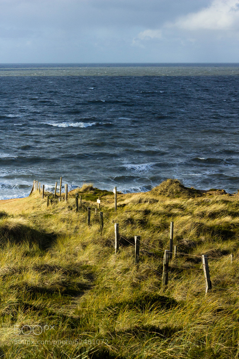 Photograph Sylt fence at the North Sea by Heike Kitzig on 500px