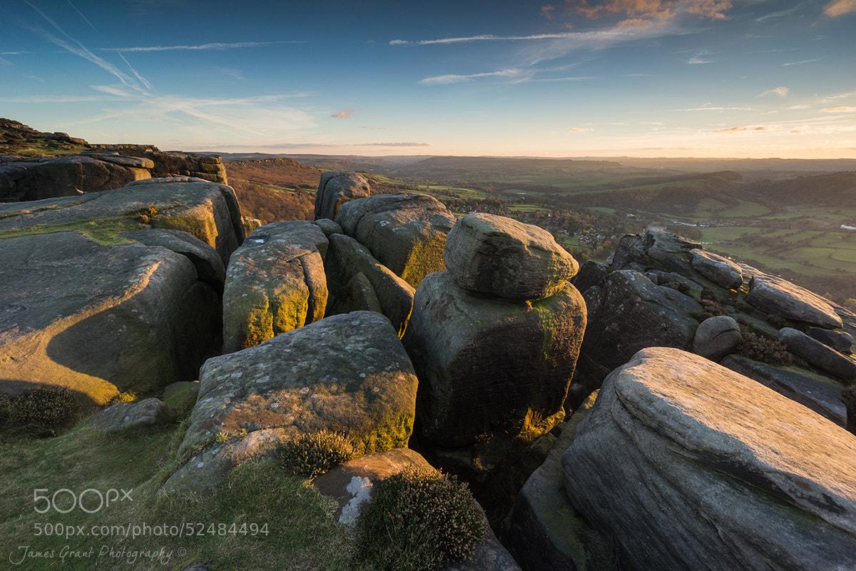 Photograph Froggatt Edge Sunset by James Grant on 500px