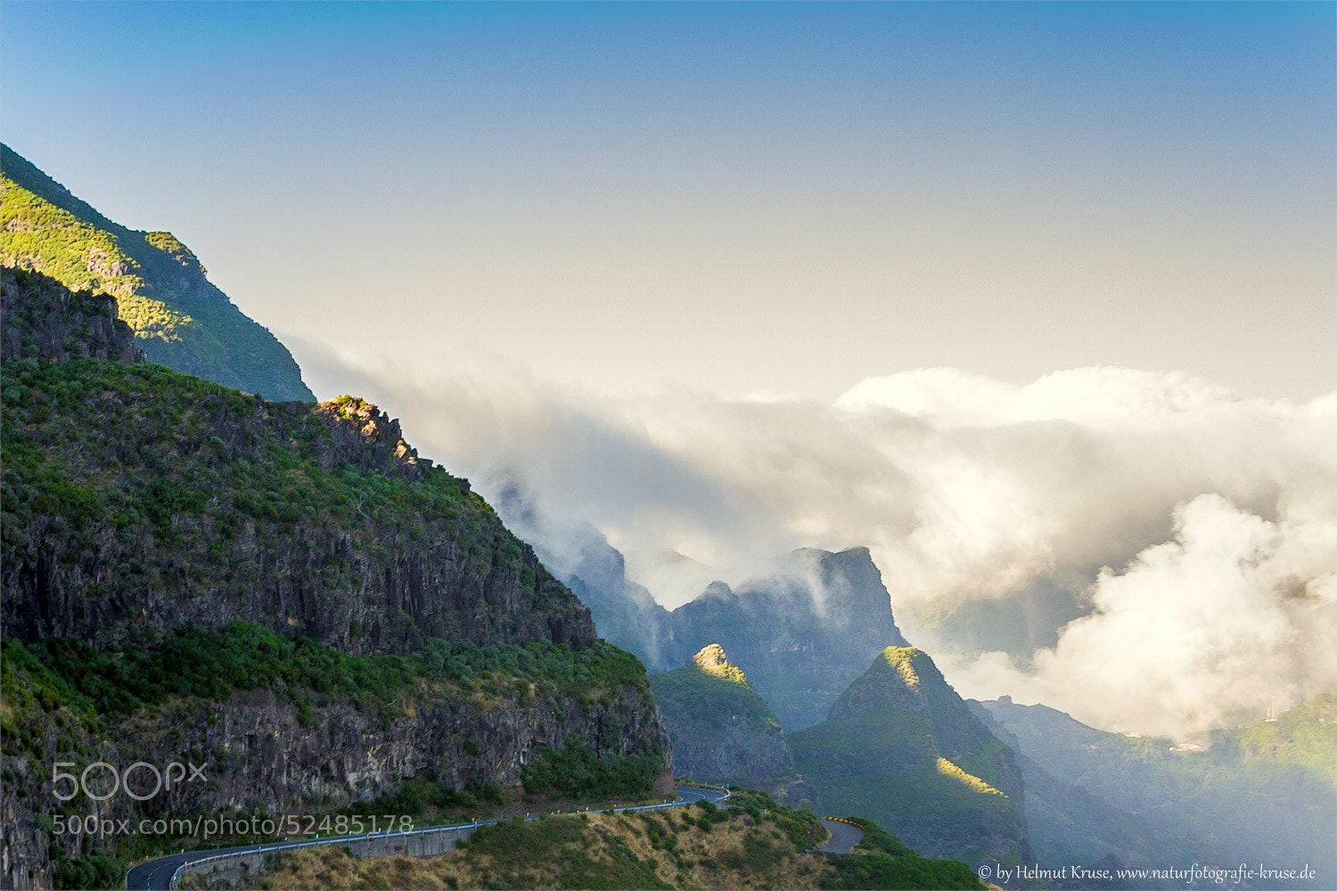 Photograph Fall of clouds by Helmut Kruse on 500px