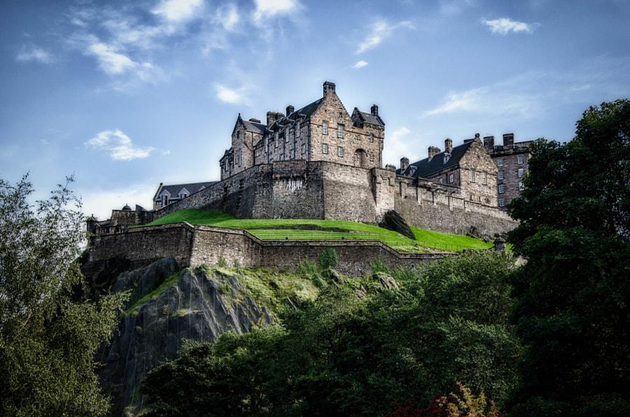 Edinburgh Castle by Col Walder on 500px.com
