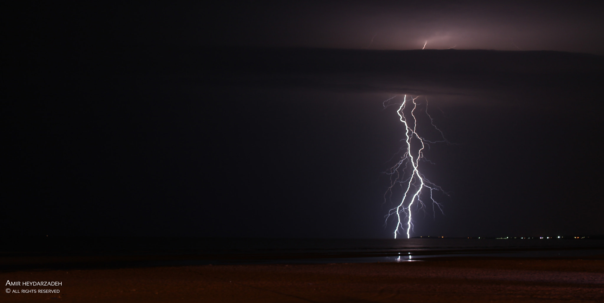 Photograph Lightning... by Amir Heydarzadeh on 500px