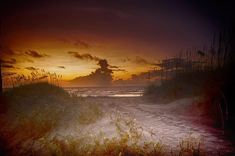 Photograph Sunrise on Tybee Beach by Marianne Venegoni on 500px
