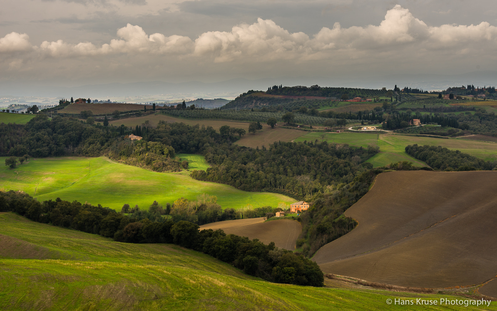 Photograph Tuscan landscape in November by Hans Kruse on 500px
