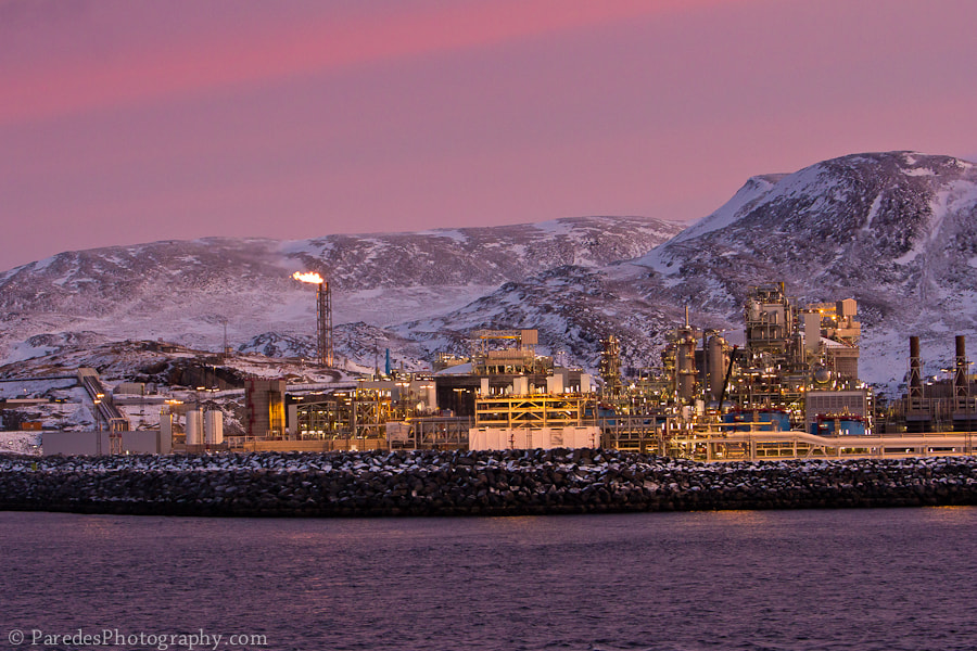Photograph Hammerfest LNG Plant by Peter Paredes on 500px