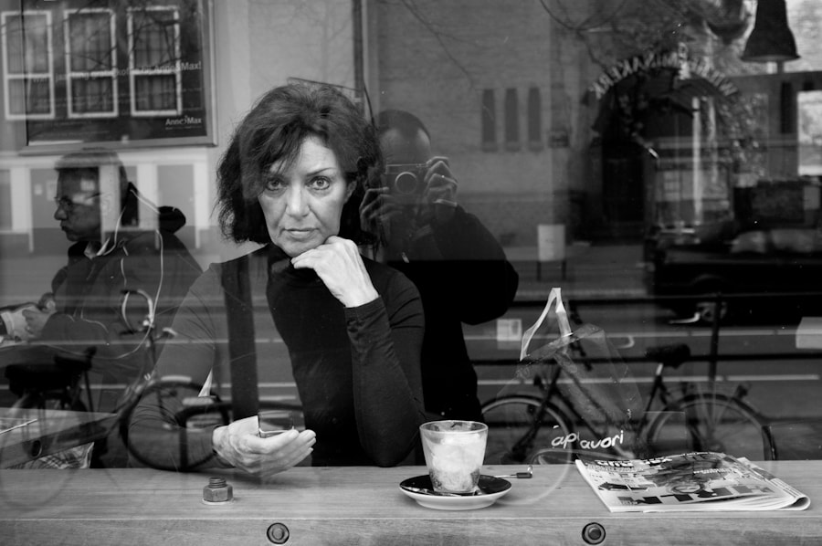 Photograph Lady in coffee shop by Ton Heijnen on 500px