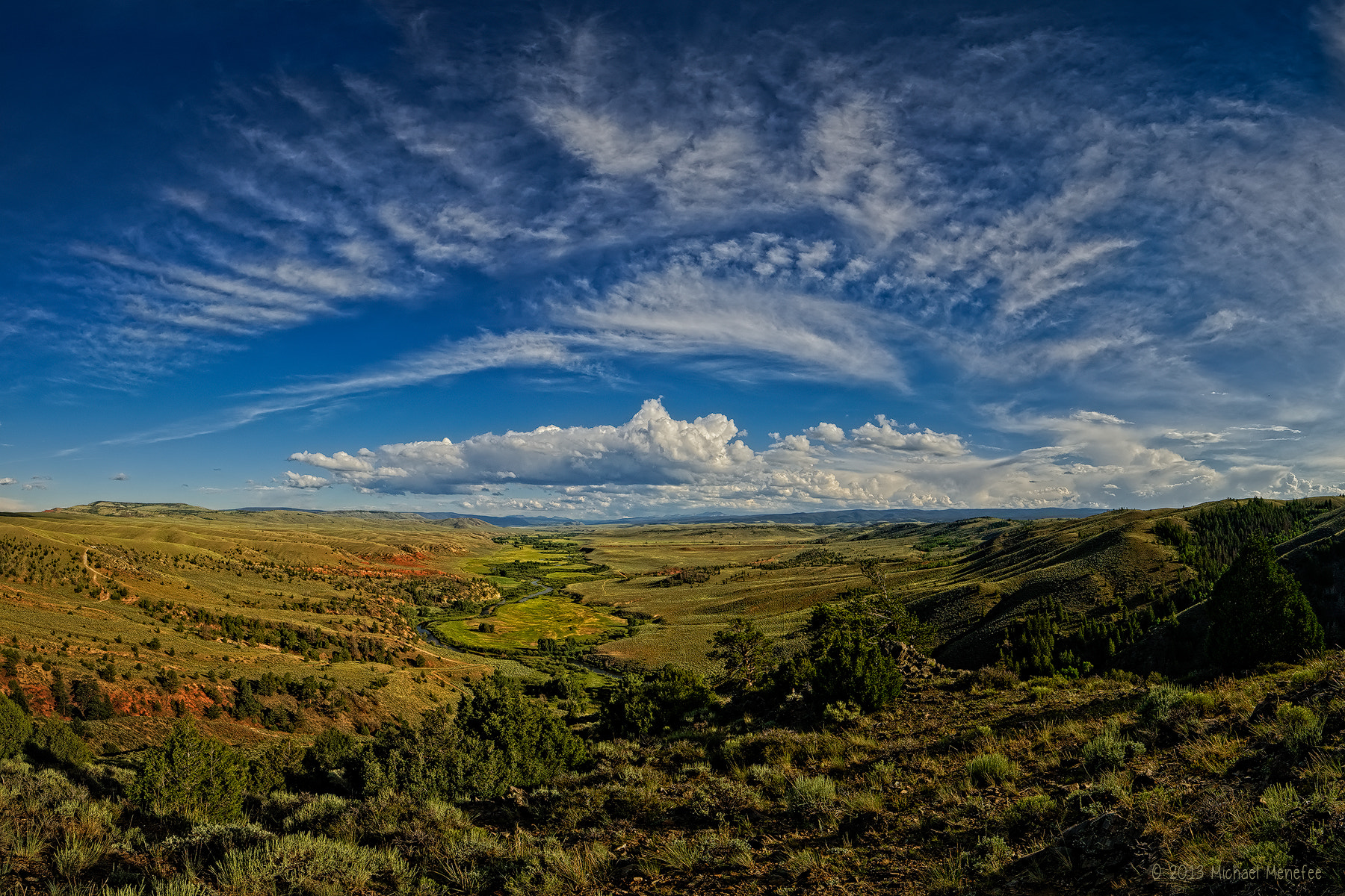 Photograph Serenity Found in the Laramie River Valley by Michael Menefee on 500px