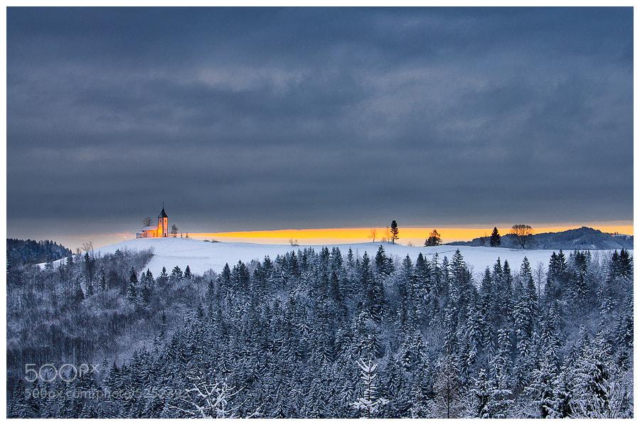 Photograph Winter morning by Simon Benedičič on 500px