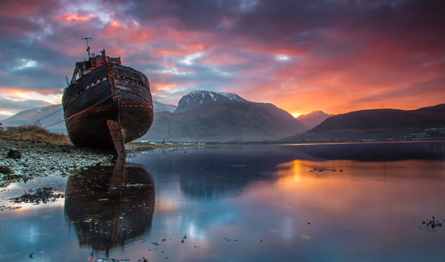 Sunrise over Ben Nevis by camerondj1970 on 500px.com