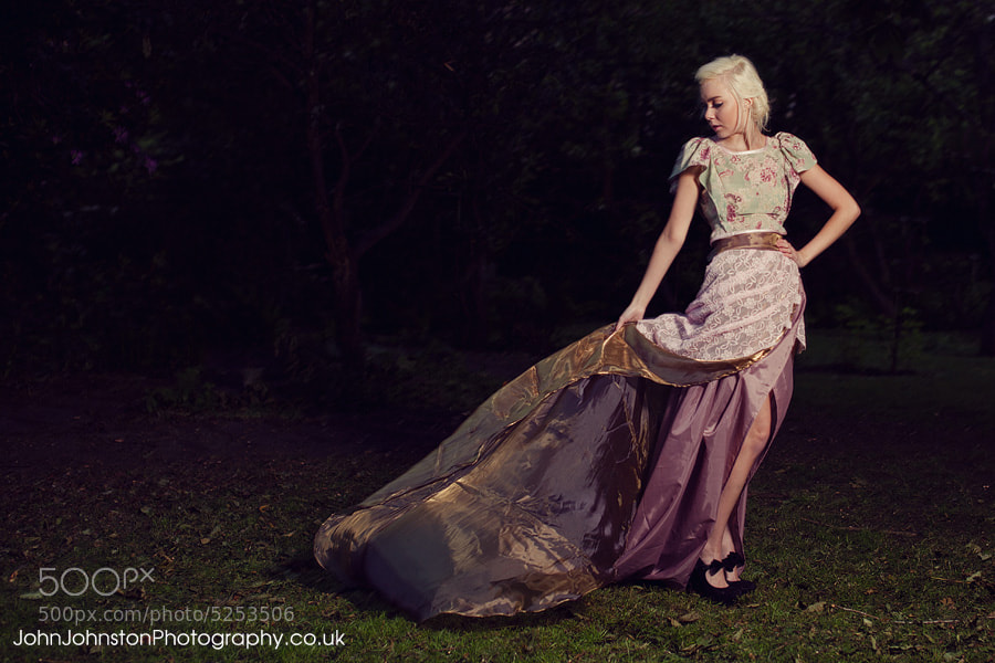 Photograph Canon 5D2 - Wind swept dress by John Johnston on 500px