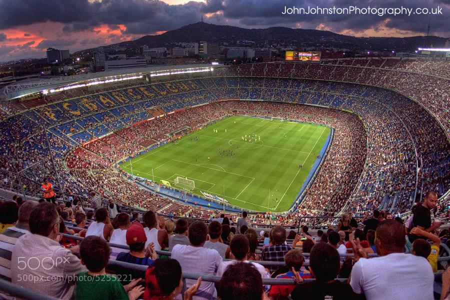Photograph Canon 5D2 - Nou Camp Barcelona by John Johnston on 500px