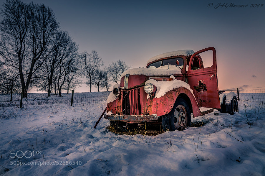 Photograph One Headlight by Boxcar Photography on 500px