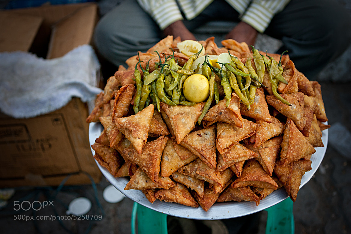 Photograph Samosa by Sanjay B on 500px