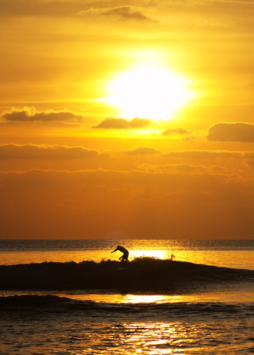 Photograph Silhouette Surfer by Ad Jones on 500px