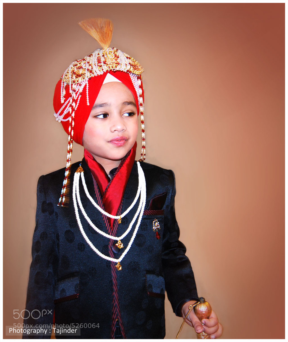 Photograph Child Sikh Groom by Tajinder J Singh on 500px
