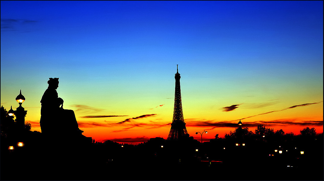 Photograph Sunset, Paris by dogukan canakkale on 500px