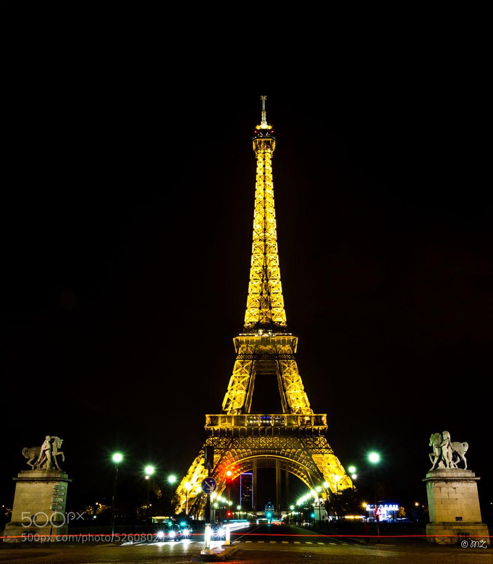 Photograph Eiffel Tower by Malik ZEMMOURI on 500px