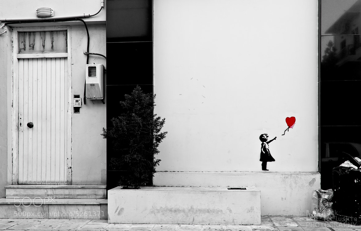 Photograph Banksy in Crete by Mark McCluskie on 500px