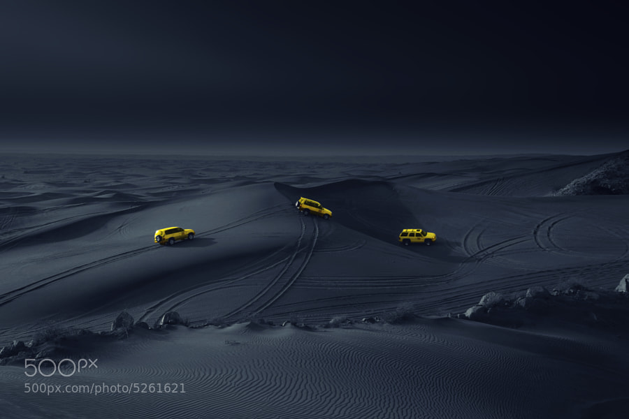 Photograph Yellow cars by German   Abad on 500px