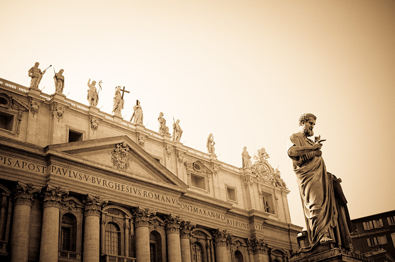 Photograph Saint Peter by Javier Garcia Blanco on 500px