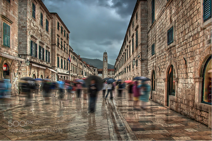 Photograph Dubrovnik in the rain by Marek LACHENDRO photography on 500px