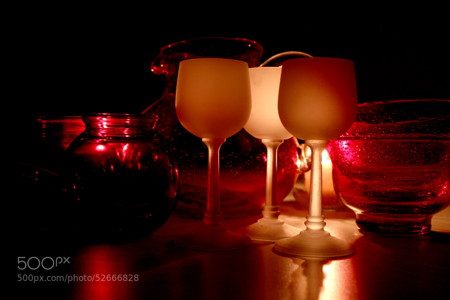 Still Life with Glassware by Jeff Carter on 500px.com