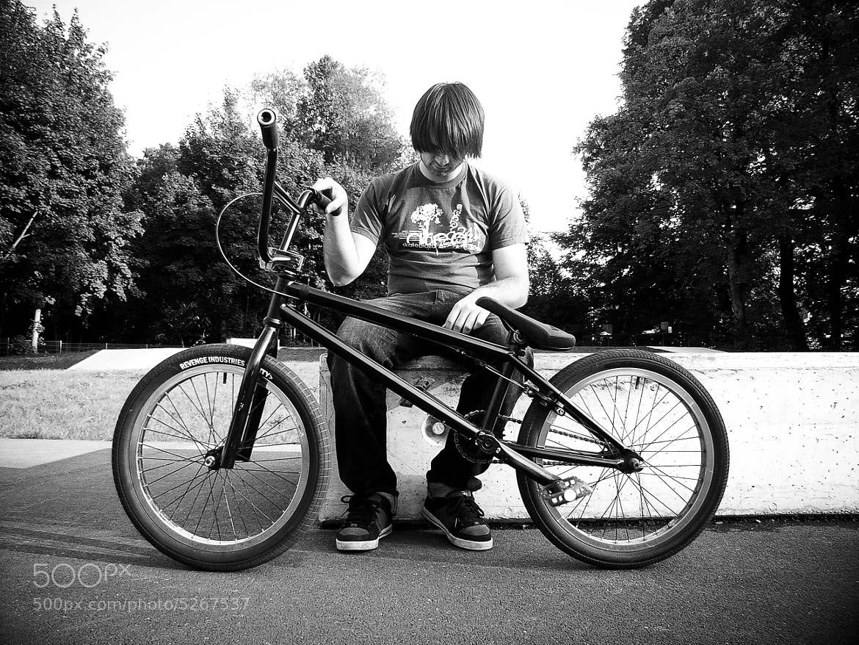 Photograph My old Bike. BMX ♥ by David Hellmann on 500px