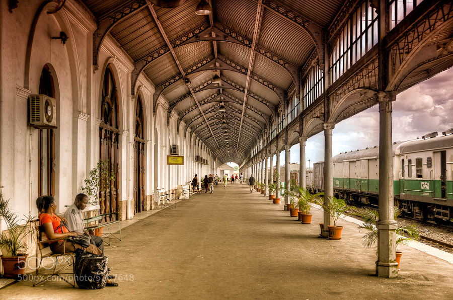 Photograph Maputo Railway Station by Michael Morris on 500px