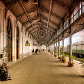 Maputo Railway Station by Michael Morris (michael_morris)) on 500px.com