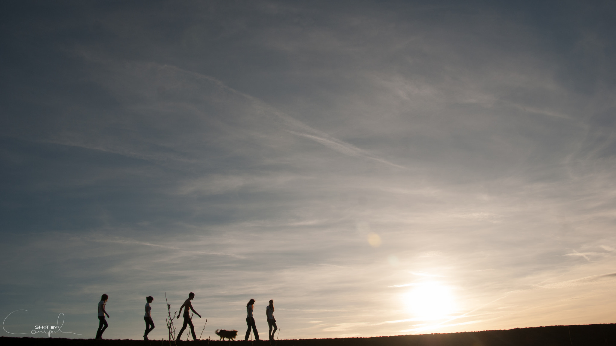 Photograph Family walk by Jelle Canipel on 500px