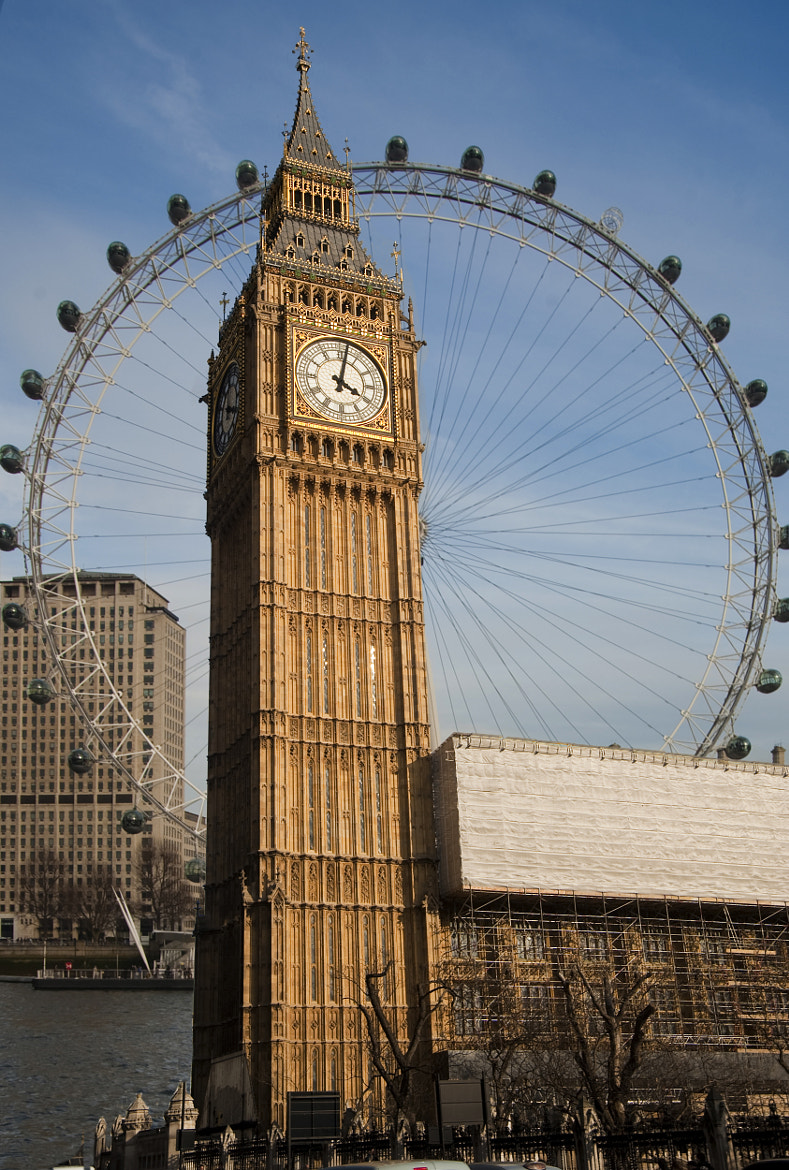 Photograph The Two Eyes of London by Donald Davis on 500px