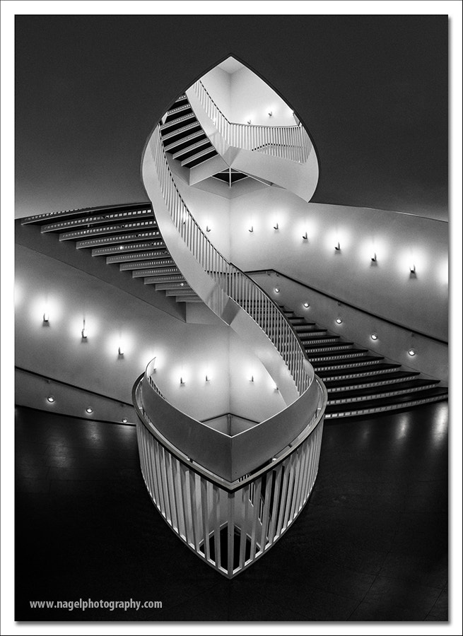 Photograph Double staircase by Glenn Nagel on 500px