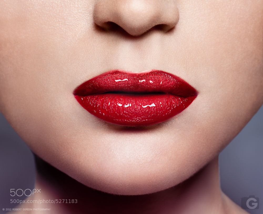 Photograph Lips by Robert Gordon on 500px