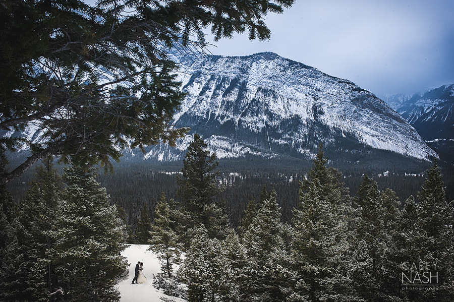 Photograph Winter Mountain Wedding by Carey Nash on 500px
