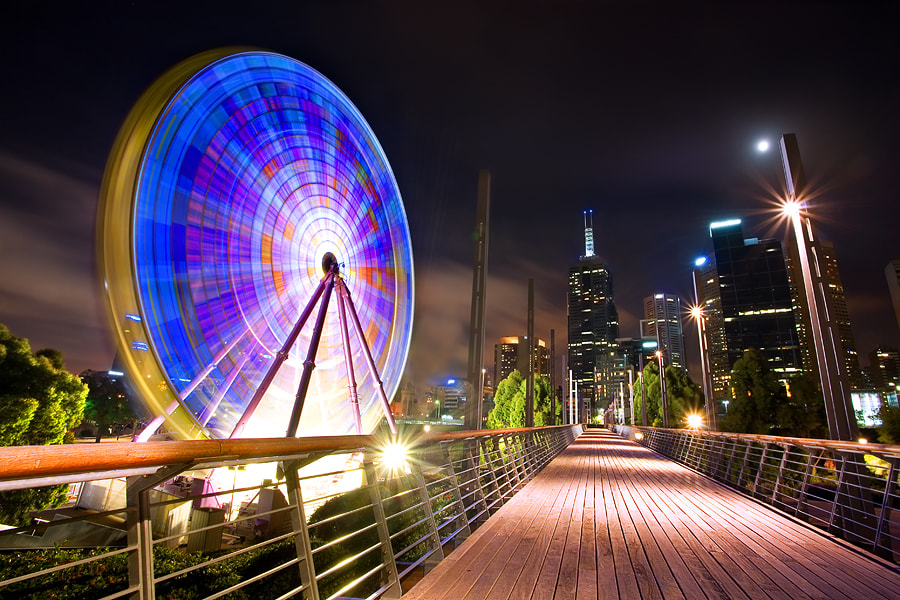 Photograph Giant Sky Wheel, Melbourne by Yury Prokopenko on 500px