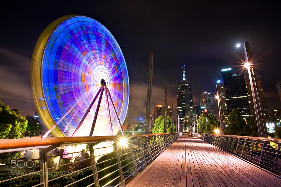Photograph Giant Sky Wheel, Melbourne by Yury Prokopenko on 500px
