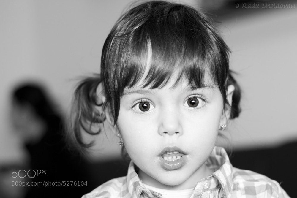 Photograph Suprised little girl by Radu Moldovan on 500px