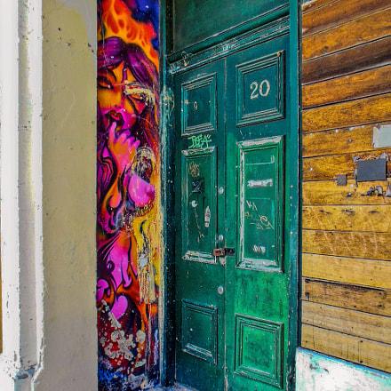 Art and a Green Door