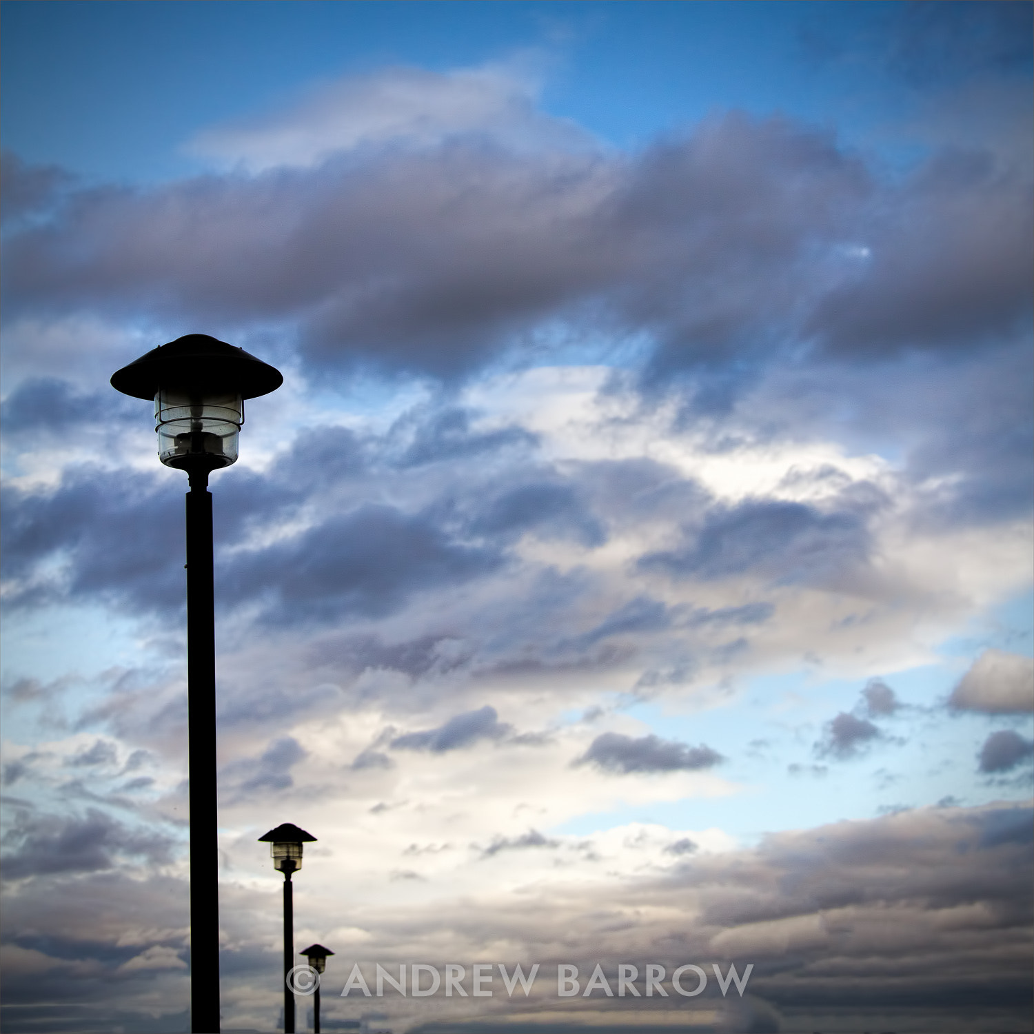 Photograph Three lamp posts by Andrew Barrow LRPS on 500px
