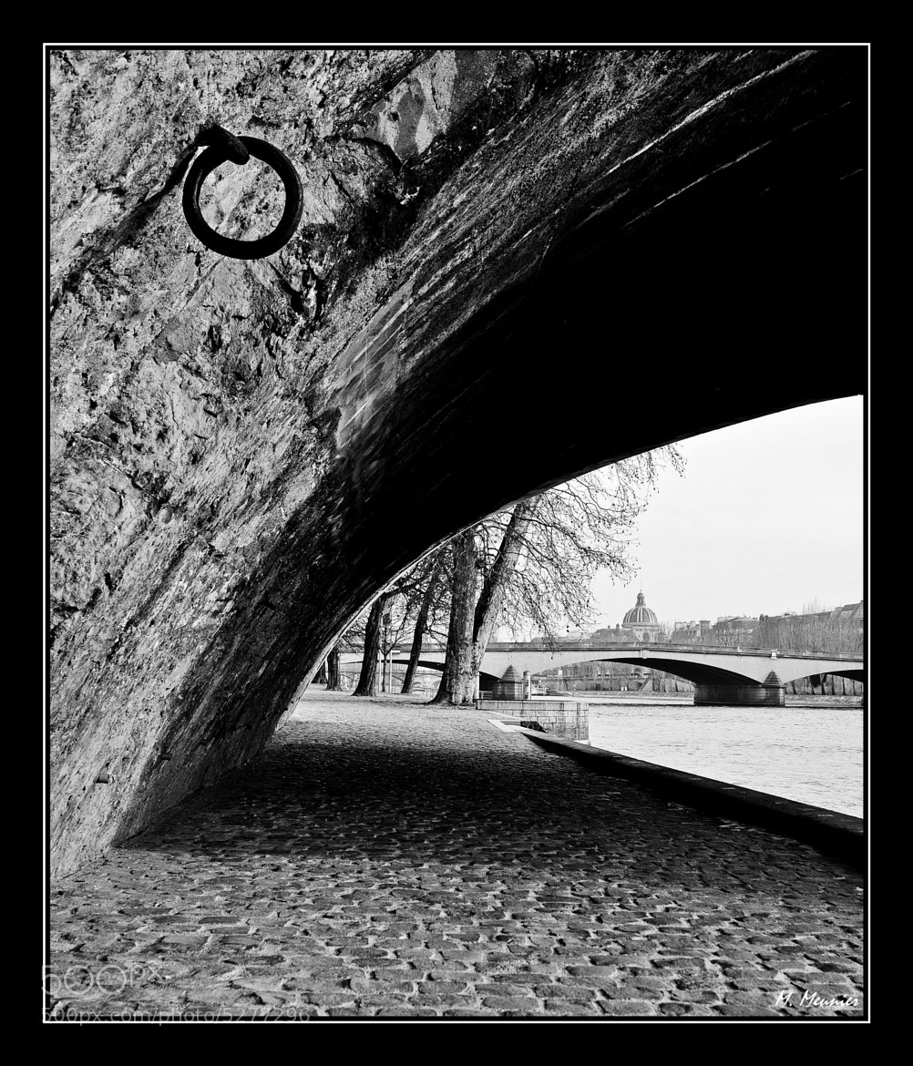 Photograph The ring & the Seine by Mathieu Meunier Photographie © on 500px