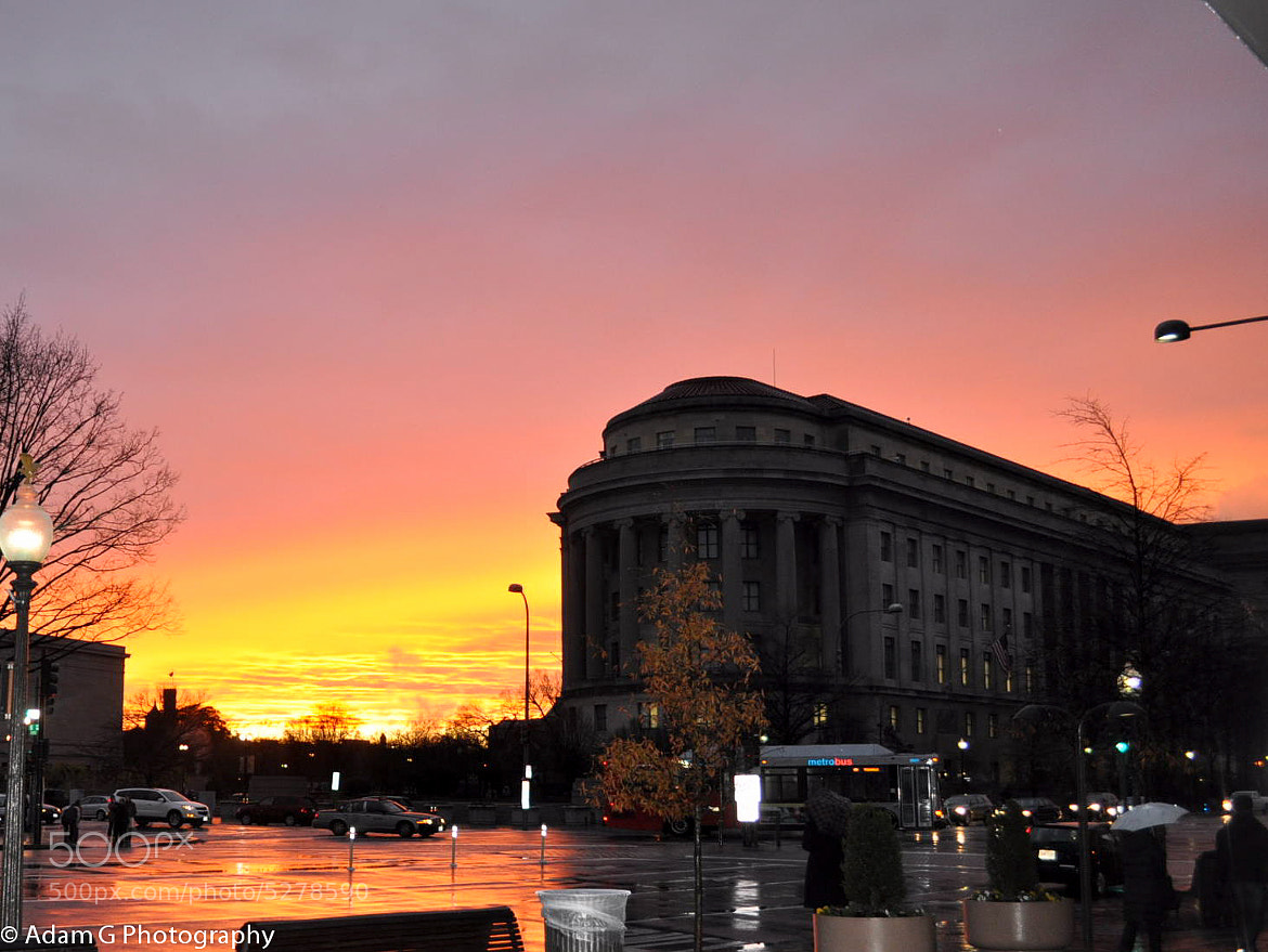 Photograph DC Sunset  by Adam Goldman on 500px