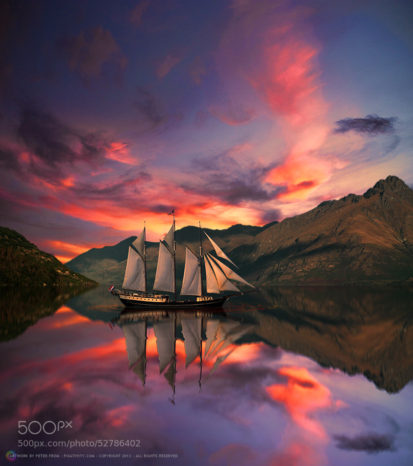 Photograph I Am Sailing by Peter From on 500px