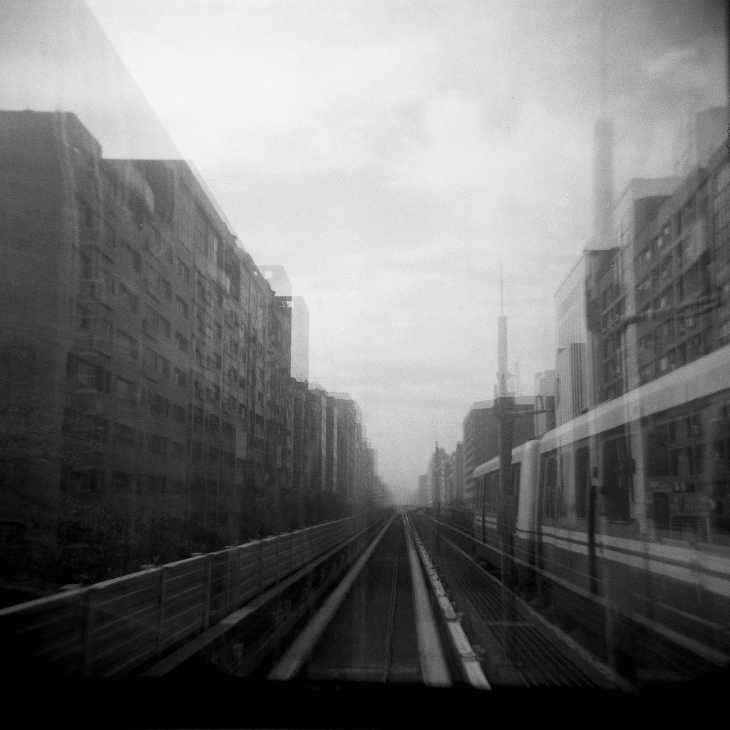 Photograph The leaving metro (double exposure) by Colourful  Life on 500px