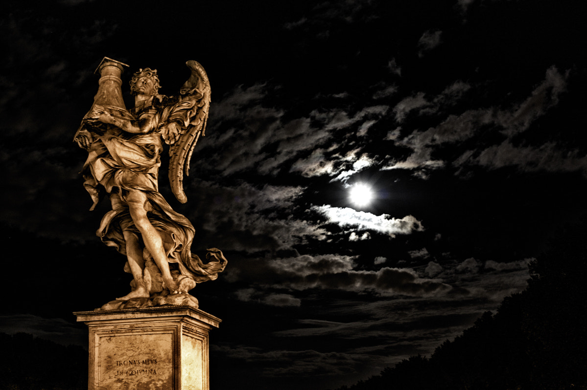Photograph The moon and the Angel by Paolo Costantino on 500px