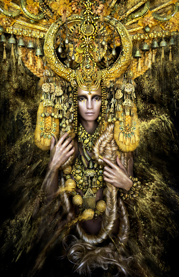 """Gaia, The Birth Of An End""  (wonderland series) by Kirsty Mitchell on 500px.com"