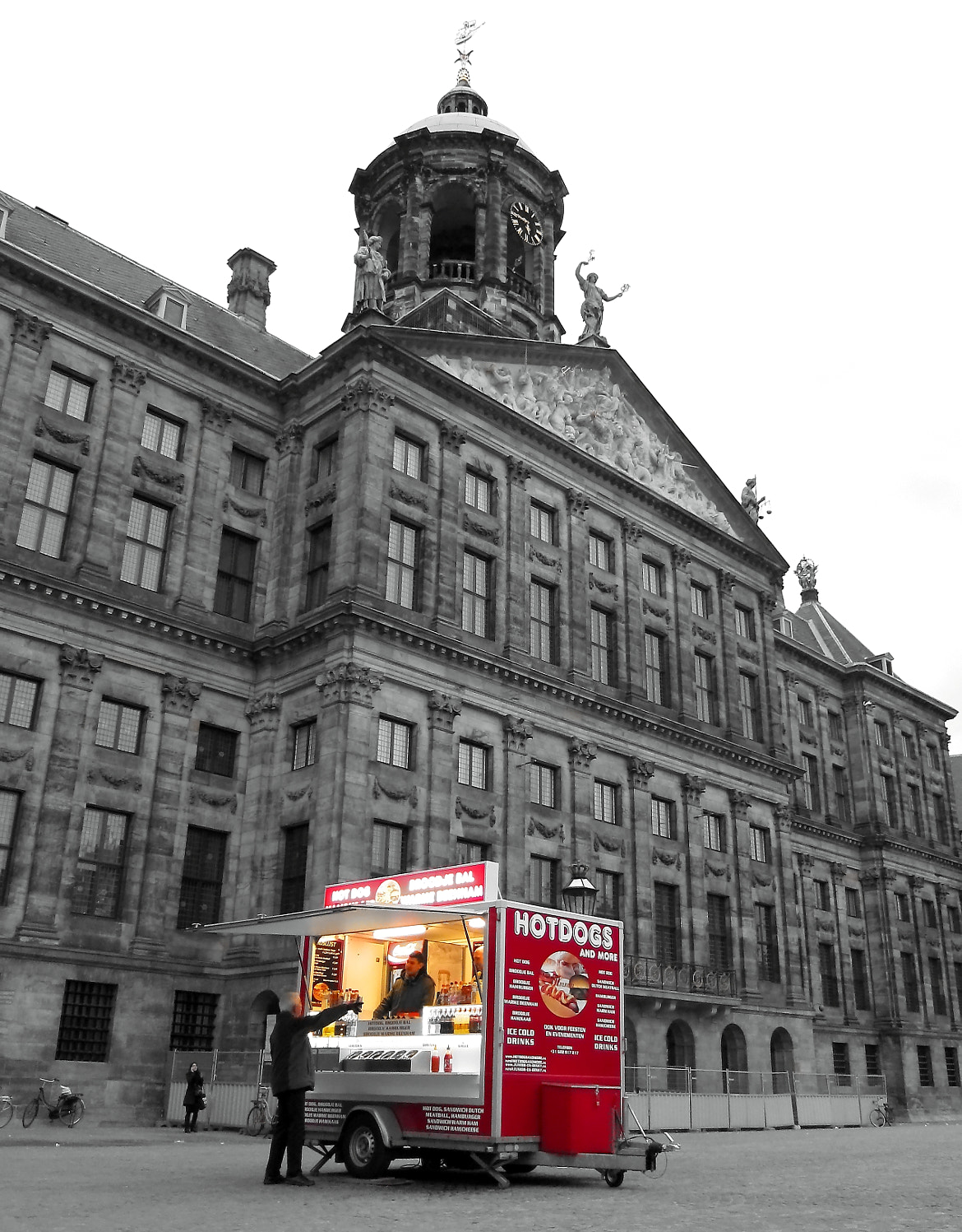 Photograph Dam square - Amsterdam by Just for fun on 500px