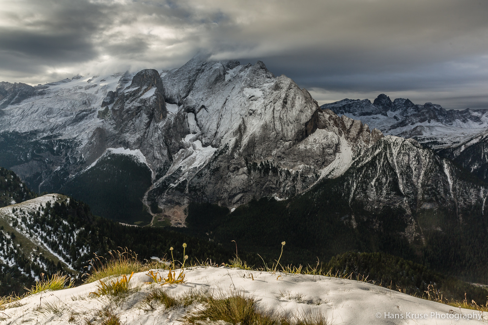 Photograph Marmolada in morning light by Hans Kruse on 500px