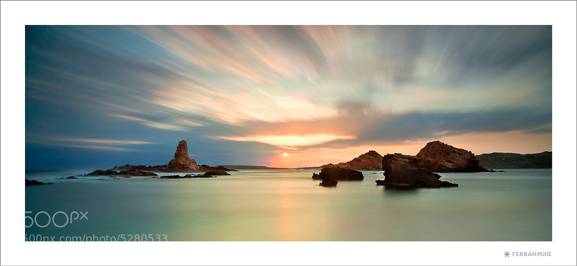 Photograph Cala Barril by Ferran Puig Martínez on 500px