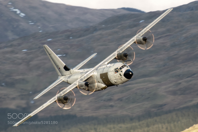 Photograph RAF Hecules C-130J by Lloyd Horgan on 500px