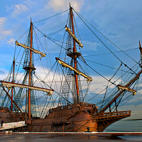 Andalucia Galleon by Rufo Taguiam (zapfino119)) on 500px.com