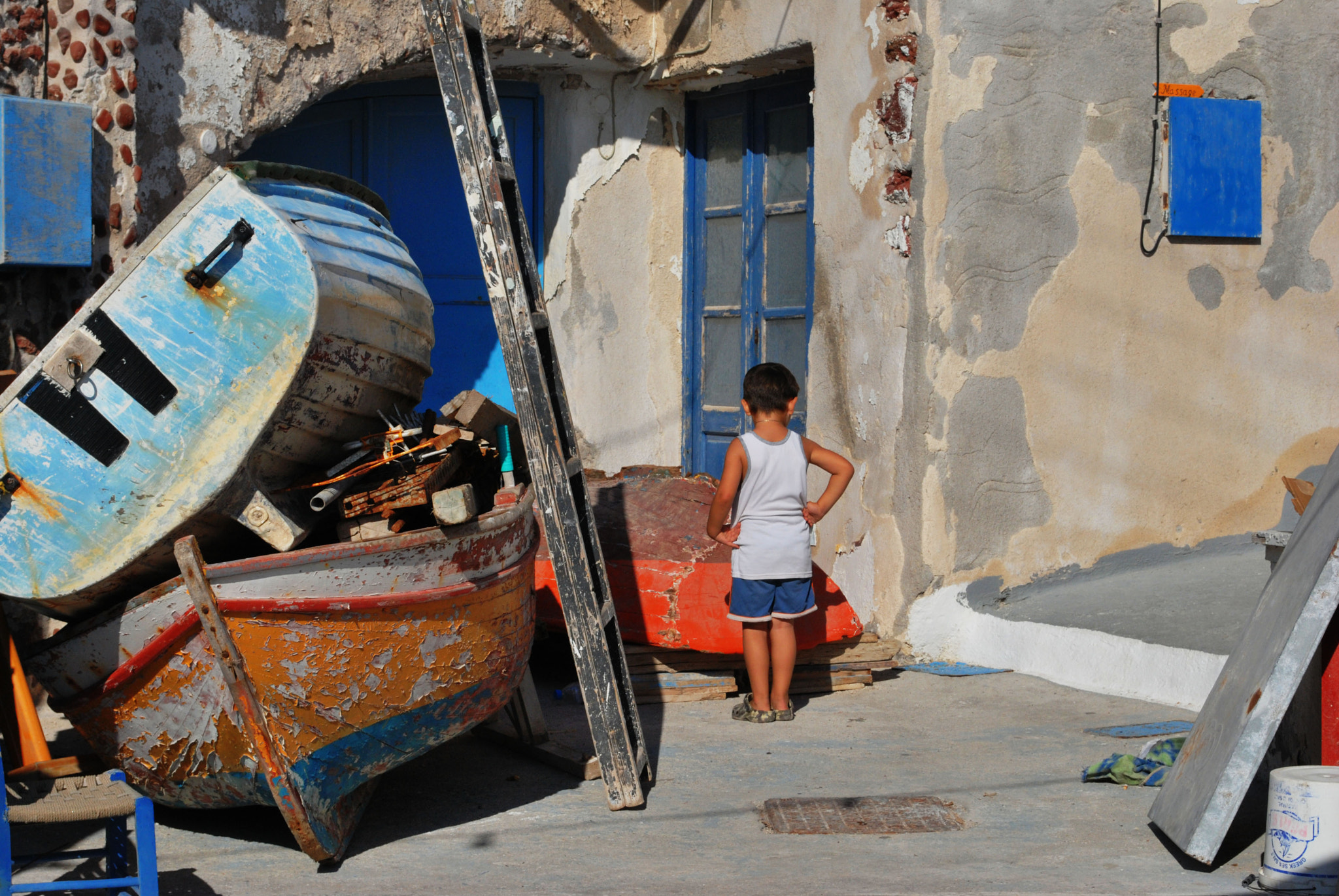 Photograph Boy and his Boat by Brad Philp on 500px